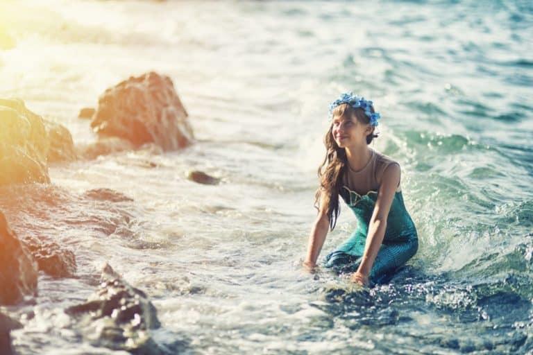 Kindergeburtstag-Meerjungfrau-Kinderlachen